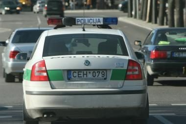 Uostamiestyje pavogti du automobiliai