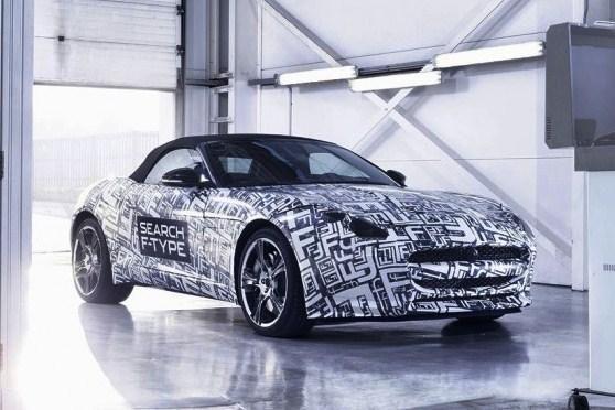 """""""Jaguar"""" gamins sportinius automobilius """"F-Type"""""""