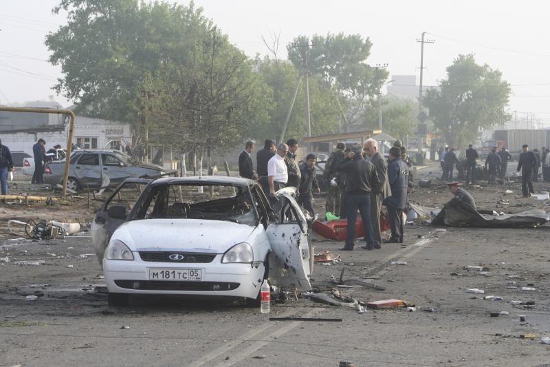 Dagestane per du sprogimus žuvo 12 žmonių, dar 100 sužeista