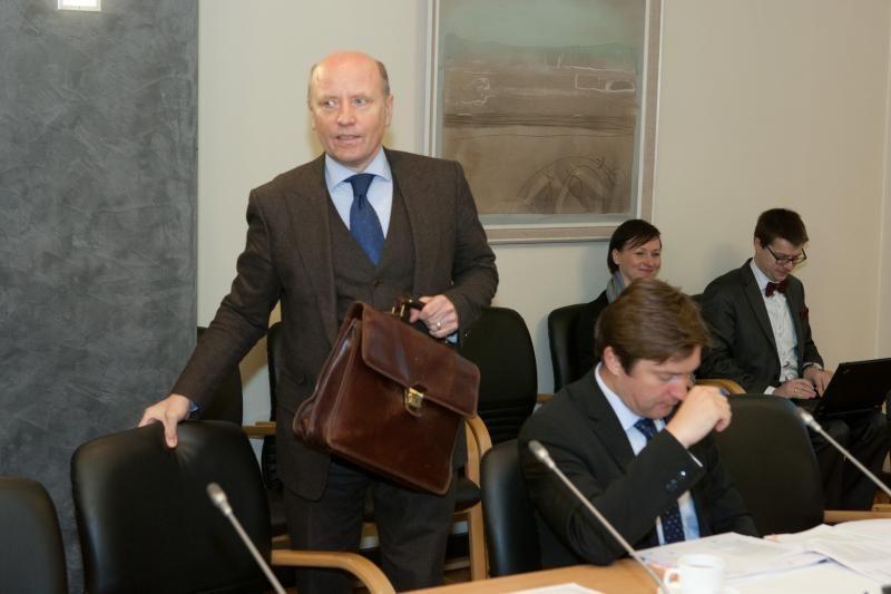 Prezidentė atleido vidaus reikalų ministrą R.Palaitį