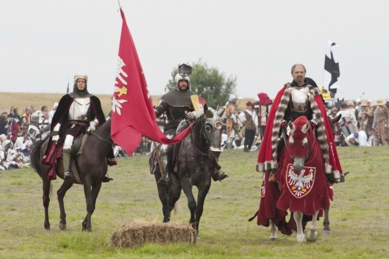 Lietuvos kariai atkartojo Žalgirio mūšį
