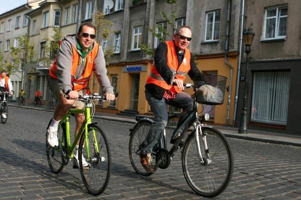 Širdies dieną medikai sėdo ant dviračių
