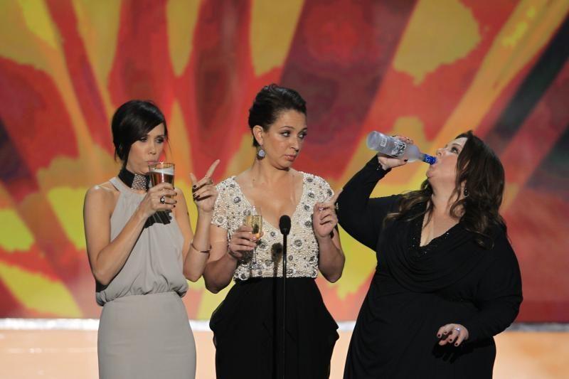 """Ekrano aktorių gildijos apdovanojimų ceremonijoje triumfavo """"Tarnaitė"""""""
