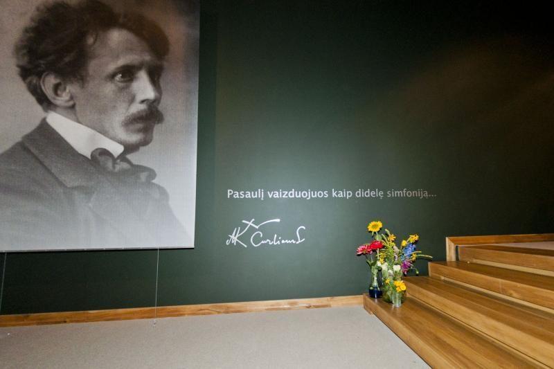 M. K. Čiurlionio gimtadienio proga po muziejų žvalgysimės nemokamai