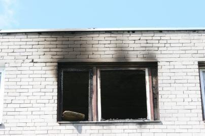 Uostamiesčio daugiabutyje degė virtuvė