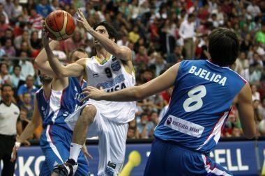 Serbai išstūmė argentiniečius iš pirmosios vietos A grupėje
