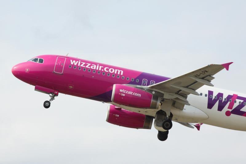"""""""Wizz Air"""" pasiūlys 5 naujas kryptis iš Vilniaus oro uosto"""