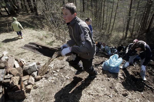 Aplinkos tvarkymo akcijos