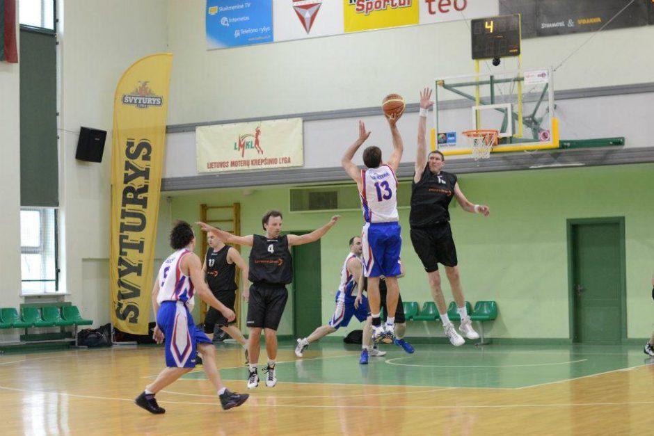 """Geriausia krepšinio mėgėjų lygos pirmenybėse – """"Lemminkainen"""" ekipa"""