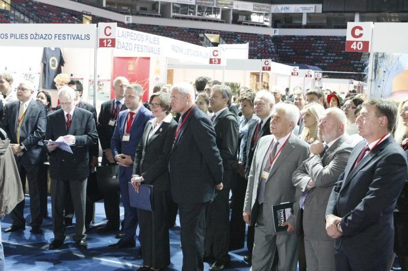 Klaipėdos arenoje - tarptautinė verslo pasiekimų paroda