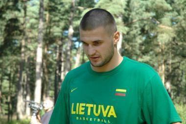 LKF: L.Kleiza gali nežaisti Lietuvos rinktinėje Turkijoje