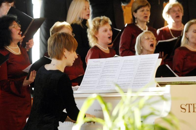 Klaipėdos krašto Kazimierai po mugės susirinko į koncertą