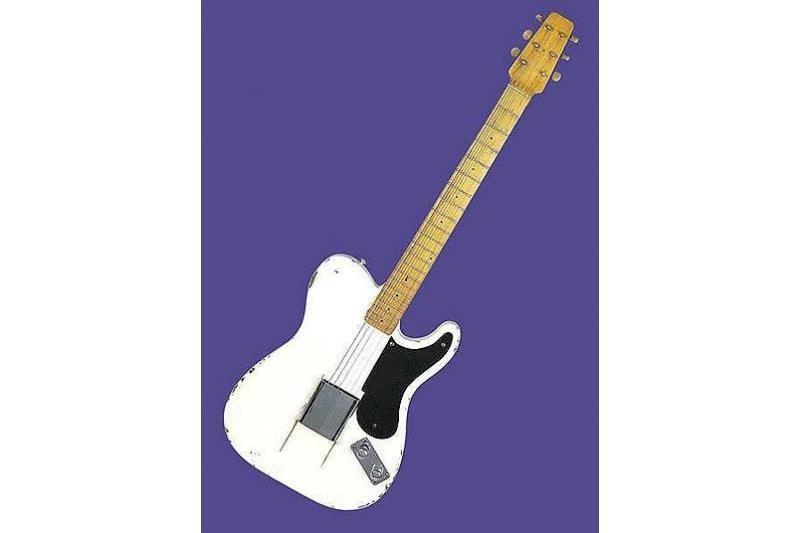 Ant brangiausiai pasaulyje parduotos gitaros – Bryano Adamso parašas
