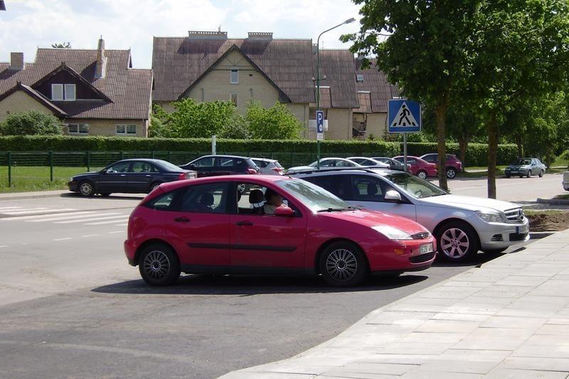 Palangoje - daugiau vietų automobiliams statyti