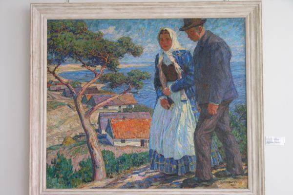 T.Manno festivalyje – Nidos dailininkų kolonijos paveikslų paroda