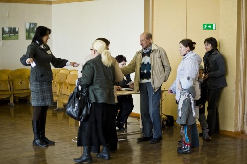 Po kalbų apie engiamus lenkus Vandžiogaloje – ramūs rinkimai