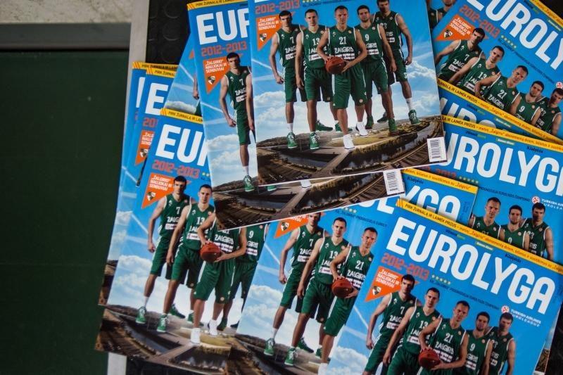 """""""Eurolygos"""" žurnale – tai, ko galbūt nežinojote apie žalgiriečius"""