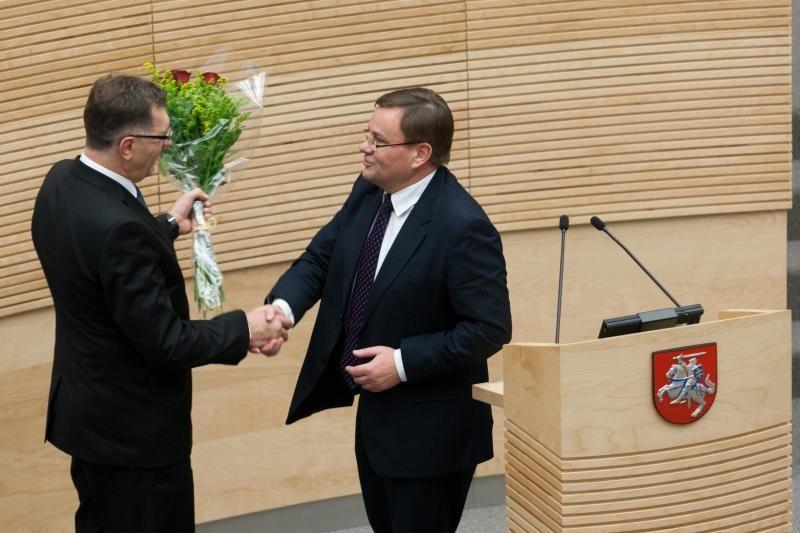 Premjeras ir Seimo pirmininkas netikėtame susitikime aptarė rudens darbus