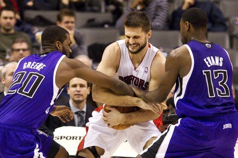 NBA lygos rungtynėse Linas Kleiza į varžovų krepšį įmetė du taškus