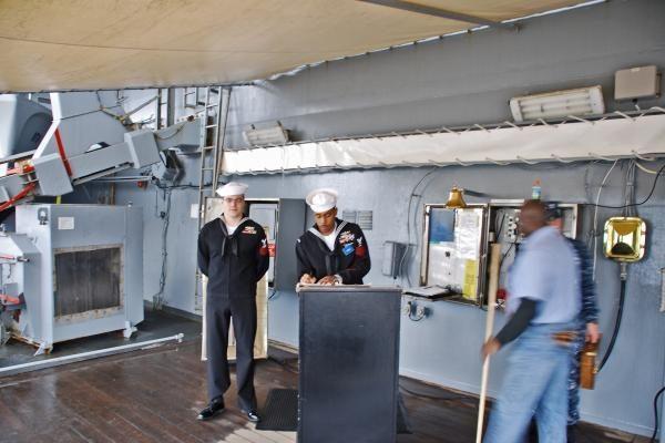 """Klaipėoje - JAV karo laivas """"Mount Whitney"""""""