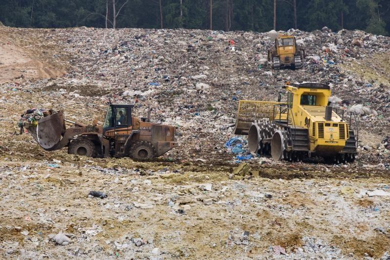 Karas      dėl     atliekų      Vilniuje