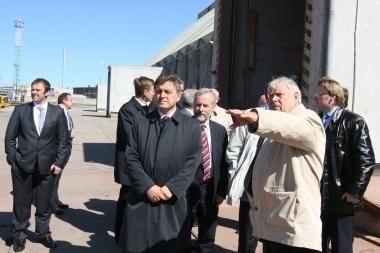 Seimo Ekonomikos komitetas domėjosi uostu