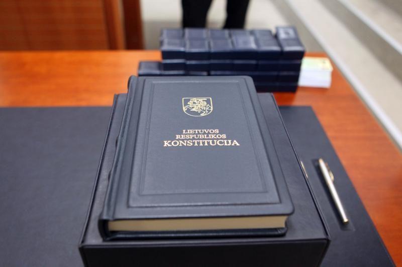 Lietuvoje bus laikomas šeštasis Konstitucijos egzaminas