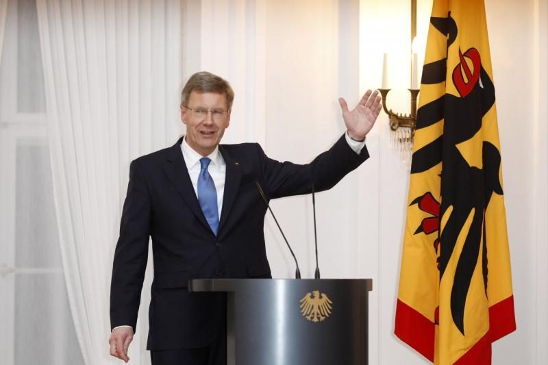 Ch.Wulffas - prezidentas, tapęs virtinės skandalų auka