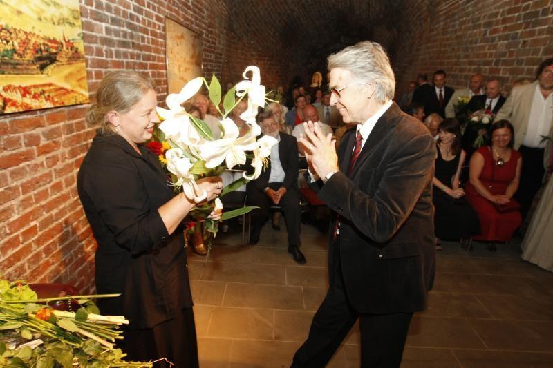 Kultūros magistro žiedas įteiktas žurnalistei R.Bočiulytei