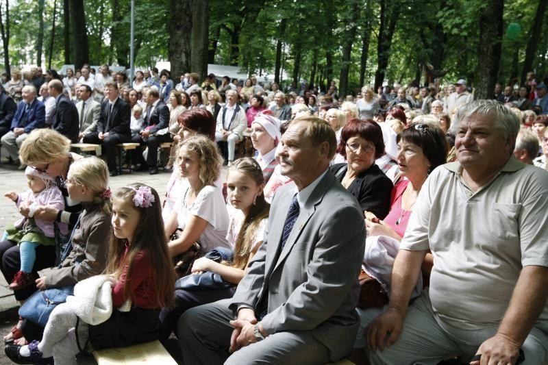 Per Gargždų gimtadienio šventę – mero inauguracija