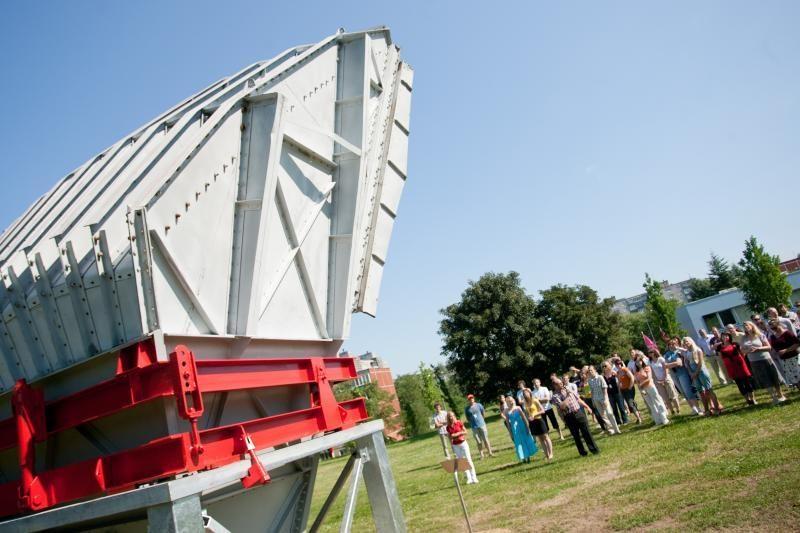 Prie Vilniaus TV bokšto atidarytas istorinis antenų parkas