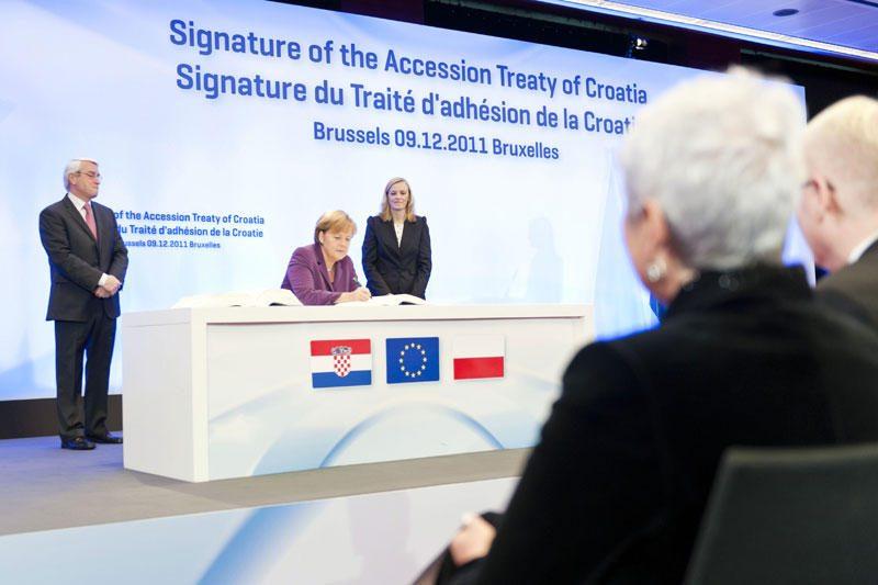 Kroatija ruošiasi referendumui dėl stojimo į Europos Sąjungą