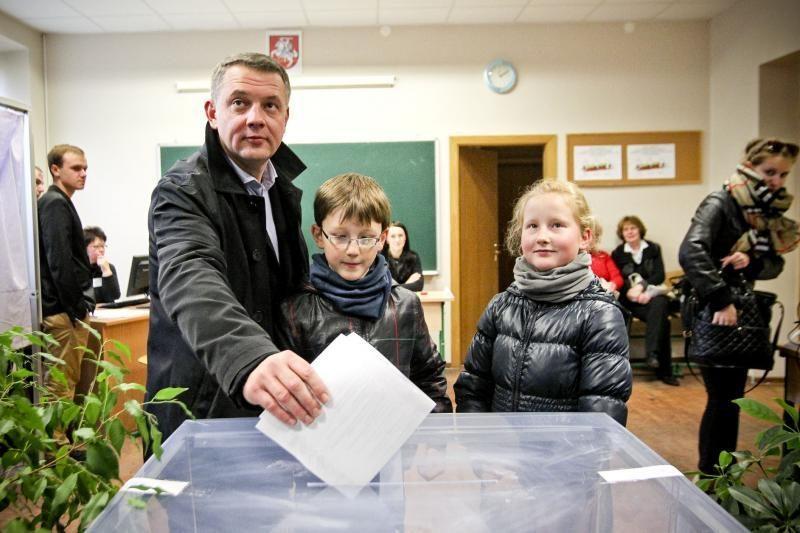 E. Masiulis: tikiu, kad rinkėjai vadovausis sveiku protu