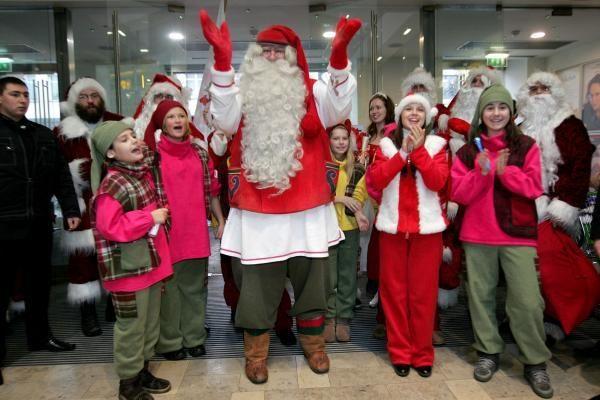 Vilniuje lankosi pagrindinis planetos Kalėdų senelis