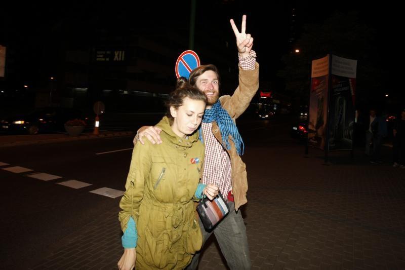 Po lemiamos pergalės – klaipėdiečių šėlsmas gatvėse