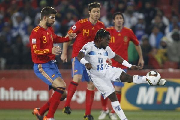 Ispanijos rinktinė 2:0 nugalėjo Hondūrą
