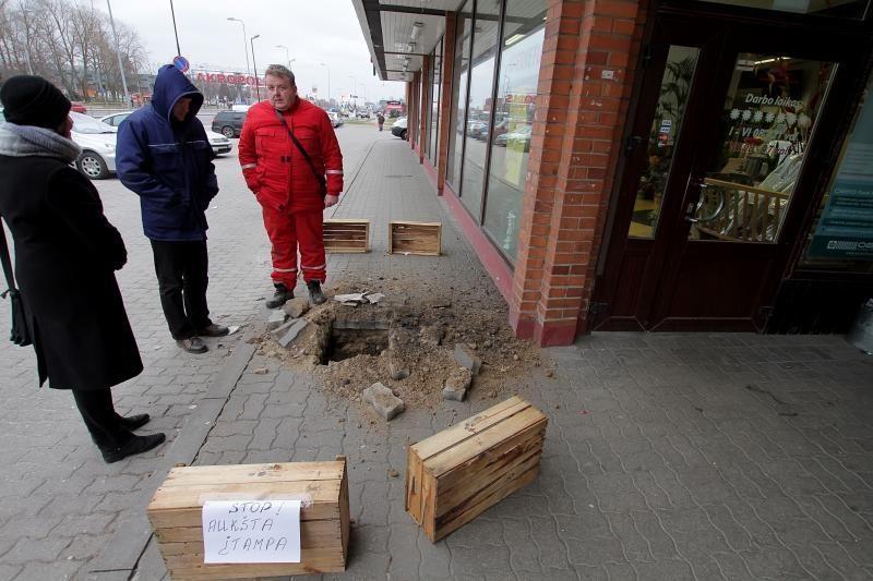 Klaipėdoje sprogus elektros kabeliams buvo sutrikęs elektros tiekimas