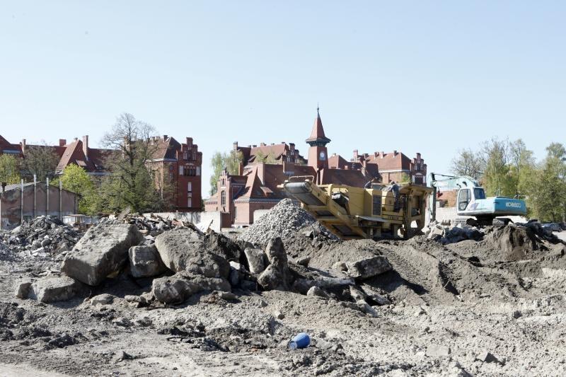 Klaipėdos universiteto miestelyje – nauji vėjai