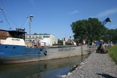 Gilinant Pilies uostą užfiksuotas pažeidimas