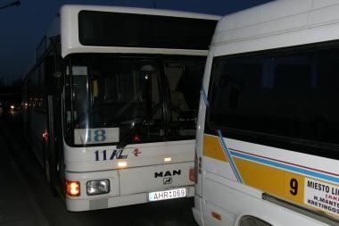 Uostamiestyje - viešojo transporto avarija