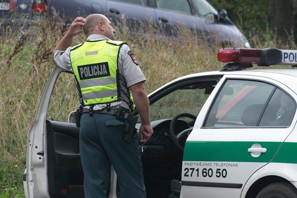 Vilniaus policija tikisi išlikti nesumažėjusi