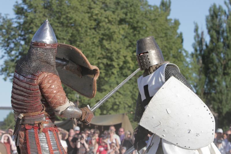 Prie Klaipėdos piliavietės atgimė viduramžių miestas