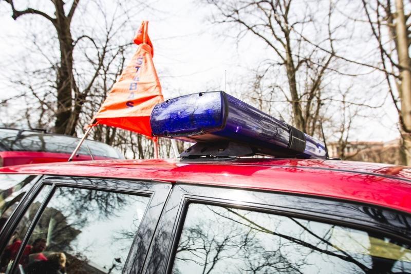 Gesinti Lėlių teatro sulėkė 7 ugniagesių automobiliai