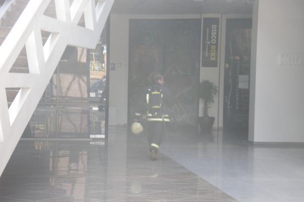 Klaipėdiečius išgąsdino virš K centro pasirodę dūmai