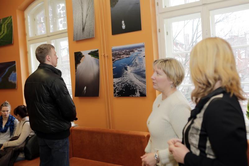 Klaipėdos universitete - Švedijos vaizdai