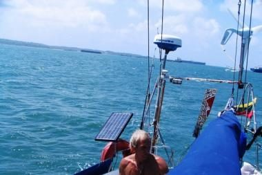 """""""Ragainė II"""" artėja prie Prancūzų Polinezijos"""