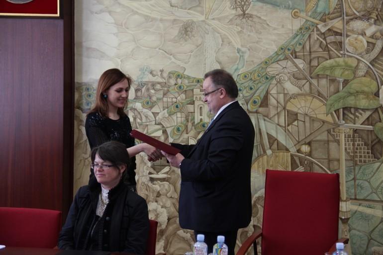 KU studentei įteikta Vydūno fondo prof. S. Kolupailos vardo premija