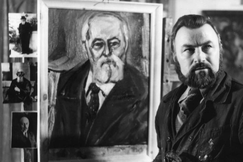 Mirė klaipėdietis dailininkas Aleksandras Ilginis