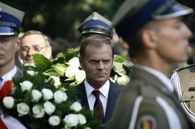 Lenkijos premjeras D.Tuskas apsilankė Afganistane