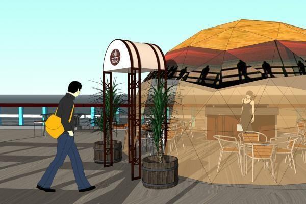 Ant Palangos tilto norima atidaryti kavinę